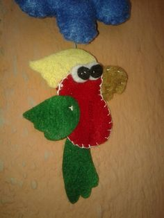 passarinho feltro