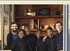 The team of chocophiles at Honest  Chocolate, Cape Town.