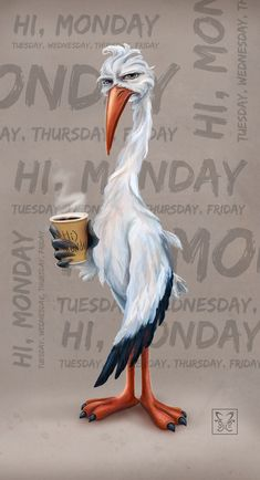 Monday is replaced by Friday, but morning coffee remains unchanged. Kids Cartoon Characters, Cartoon Kids, Coffee Latte Art, Anime Monochrome, Coffee Theme, Coffee Pictures, Cute Profile Pictures, Coffee Photography, Cute Cartoon Wallpapers