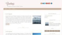 Greetings Blogger template » http://btemplates.com/10043