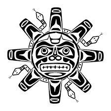 aztec jaguar symbols aztec symbols for protection aztec symbols Tribal Tattoos, Native Tattoos, Wolf Tattoos, Life Tattoos, Haida Tattoo, Maori Tattoos, American Indian Art, Native American Art, Aztec Symbols