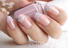 Shared by JACKIE JONES. Find images and videos on We Heart It - the app to get lost in what you love. Cute Nail Art, Cute Nails, Pretty Nails, Hair And Nails, My Nails, Nagellack Trends, Japanese Nail Art, Dream Nails, Manicure E Pedicure