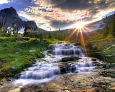 For all of you who love Nature, here is a wonderful collection of 20 Stunning Landscape Photos. They include all the beautiful scenery that Nature can offer Beautiful Waterfalls, Beautiful Landscapes, Beautiful Scenery, Beautiful Sunrise, Natural Scenery, Beautiful Images, Natural Waterfalls, Beautiful Morning, Beautiful Songs