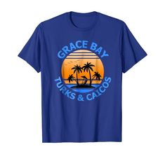 Amazon.com: Grace Bay Vacation Shirt Turks & Caicos Travel Holiday Tee: Clothing Grace Bay travel or holiday souvenir tee shirt are the perfect to wear on your trip of are the perfect gift for someone travelling to Turks & Caicos. Grace Bay Vacation Shirt Turks & Caicos Travel Holiday Tee. #Turks&Caicos #TurksandCaicos #Turks&Caicosshirts San Diego Vacation, San Diego Travel, Vacation Shirts, Beach Shirts, Turks And Caicos Vacation, Florida Holiday, Island Shirts, California Travel, Holiday Travel