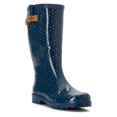 Chooka Women's Chevron Dot -- Can't believe it's available, see it now : Rain boots