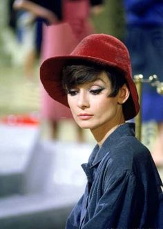 Audrey Hepburn, from the movie How to Steal a Million.'