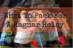 What to pack for a Ragnar relay...on my running bucket list