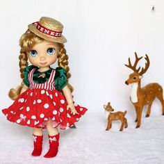 """Doll clothes for Disney animator doll 16""""."""