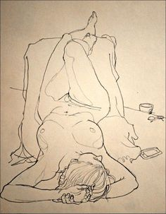 "tanyaclose: ""Johnson, Rich - ""Thursday Morning Life Drawing"" """