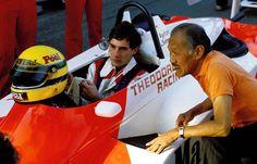 Ayrton Senna and Teddy Yip : Ayrton Senna - Ralt RT3/83 Toyota - West Surrey Racing - XXX Grande Prémio de Macau 1983 - F3 Non championship race