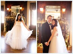 Loose Mansion | Kansas City Weddings | Holiday Wedding | Tracy Routh Photography