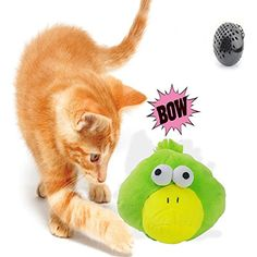 BIG DEAL Automatic Electronic Shake Plush Squeaky Dog Toys Interactive Exercise Entertainment For Cats,Dogs (ducky) ** Want additional info? Click on the image. (This is an affiliate link) #DogToyBalls