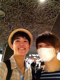 Johnny Saito [齊藤ジョニー] (and shuhei kudo) omgah they're so cute