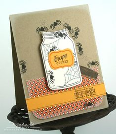 Creepy Crawly Card by Nichole Heady for Papertrey Ink