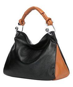 Vincenzo Leather Hobo Bag