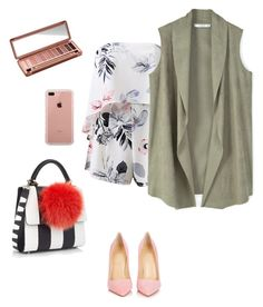 """""""Untitled #156"""" by lnkuli ❤ liked on Polyvore featuring Christian Louboutin, Les Petits Joueurs, MANGO, Belkin and Urban Decay"""