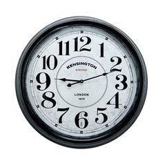 67efdcfabf3 Relógio De Parede Kensington London - R  279