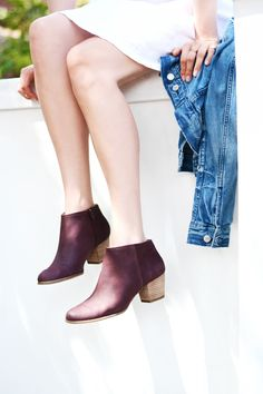 These chic & comfy Sole Society booties are ideal for a night on the town.