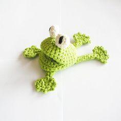 Crochet Frog Pattern.