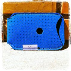 iPhone 4 Case iPhone 4S Case rubber Blue by Bookase on Etsy, $20.00