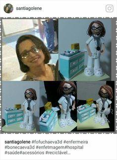 Fofucha personalizada enfermeira