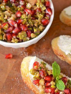 Pomegranate Olive Relish