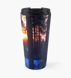 The Winter Solstice Travel Mug Beard Winter, Snowy Trees, Winter Fairy, Green Palette, Winter Solstice, Winter Landscape, Christmas Art, Winter Time, Hot Chocolate