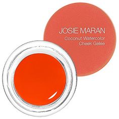 Josie Maran Coconut Watercolor Cheek Gelee Coral * Check this awesome product by going to the link at the image.