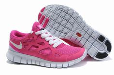 separation shoes fd18c c0949 Nike Free Run 2.0 Kvinnor Rosa Vit Pink Nike Shoes, Pink Nikes, Women s  Shoes