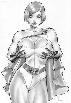 Rubismar: Power Girl by comiconart.deviantart.com on @deviantART