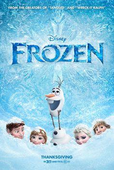 Frozen Poster: Disney's Icy Adventure