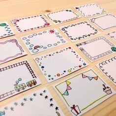 Border line beautifully Bullet Journal Frames, Bullet Journal Banner, Bullet Journal Notes, Bullet Journal School, Bullet Journal Ideas Pages, Bullet Journal Inspiration, Page Borders Design, Border Design, Doodle Frames