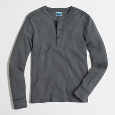 J.Crew Factory - Factory twisted rib henley Large in red