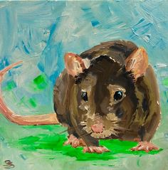 Pet Rats, Pets, Farm Art, Portrait Illustration, People Art, Freelance Illustrator, Mice, Original Artwork, Art Projects