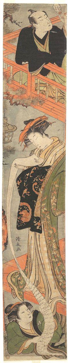 Kiyonaga Torii / Der Liebesbrief