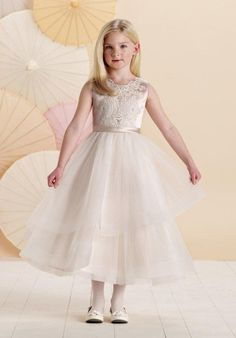Joan Calabrese by Mon Cheri 214376 Flower Girl Dress - The Knot