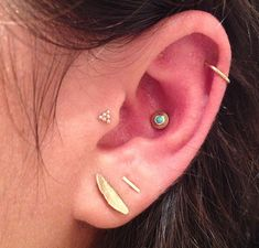 Multiple Ear Piercings: 33 Combinations to Copy | StyleCaster