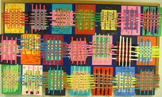 Elementary Art Weaving | There's a Dragon in my Art Room: Wild and Wacky Weaving!
