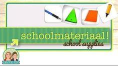Learn Dutch Today - YouTube | Schoolmateriaal (School Supplies)