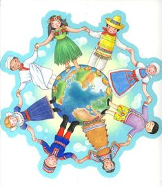 WebQuest: Five Themes of Geography Kids Around The World, We Are The World, Around The Worlds, Apropiación Cultural, Agenda Cultural, Five Themes Of Geography, Sell Your Books, School Clipart, World Crafts