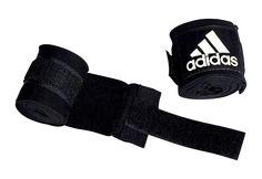 Bandage, Adidas Performance, »BOXING CREPE«.  Bandage aus 100% weichem, dehnbarem Stretch-Gewebe. AZO-Farbstoff frei. Mit Daumenschlaufe und 5 cm langem Klettverschluss.   Größe: 5 x 2,55 m....