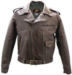 Horsehide Motorcycle Jacket