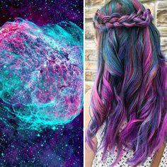 Colores de pelo galacticos  @imgur
