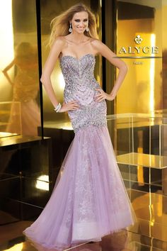 Claudine for ALYCE Paris Prom Dress Style #2220 In Stock NOW at Bri'Zan Couture!  www.brizancouture.com