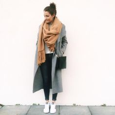 big scarf by Paulina Sophie