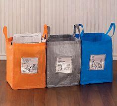 Szelektív táskák / Recycle bags