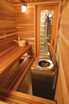 Country Saunas by Design has the Finlandia Home Sauna to fit your needs. We install Finlandia Home Saunas for customers in Connecticut (CT), Massachusetts (MA), and Rhode Island (RI). Visit our site to schedule a pre-site visit. Diy Sauna, Sauna Ideas, Basement Sauna, Basement Bathroom, Bathroom Ideas, Bathroom Plans, Bathroom Colors, Sauna Steam Room, Sauna Room