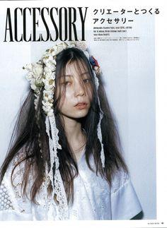 装苑7月号‐Publicity‐mod's hair