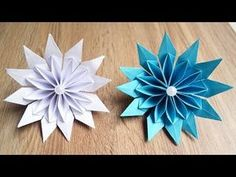GORGEOUS PAPER FLOWER Origami Tutorial DIY Decoration Craft Gift - YouTube
