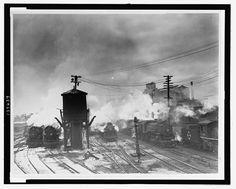 Erie Railroad Yards, Jersey City by Al Aumuller